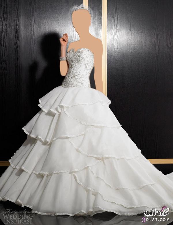 فساتين زفاف راقية جدا
