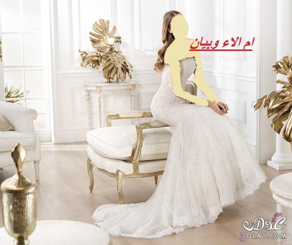 فساتين زفاف 2021,اجدد موديلات فساتين عروس 2021