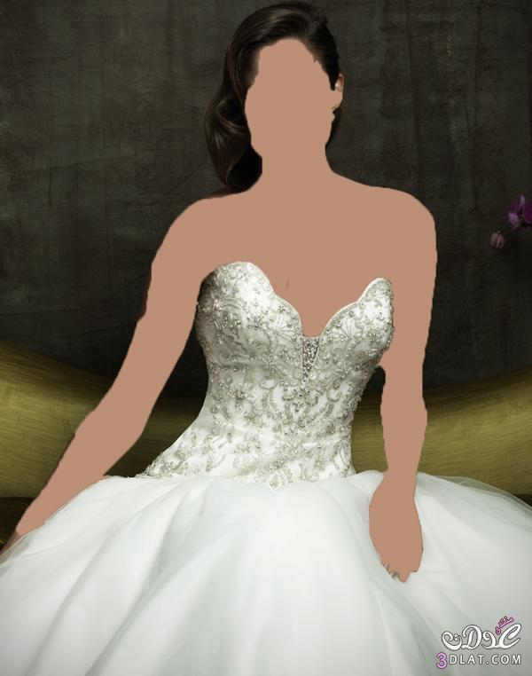 لو نفسك تفصلي فستان فرحك تعالي اتفرجي فساتين زفاف جميلة