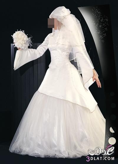 فساتين زفاف للمحجبات اجمل فساتين عرائس 2021