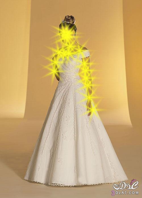 فساتين زفاف جميل فساتين افراح باللون الابيض جميلة لاحيل عروسة