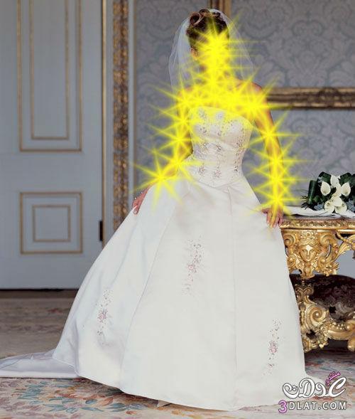 فساتين افراح اللون الابيض فساتين زفاف 2014