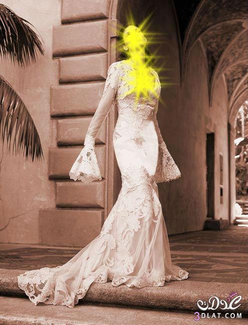 فساتين زفاف كوني جميلة يوم زفافك بفستانك الابيض
