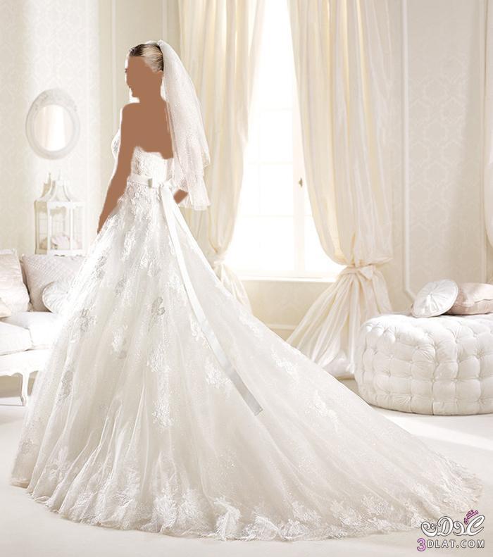 فساتين زفاف فخمة