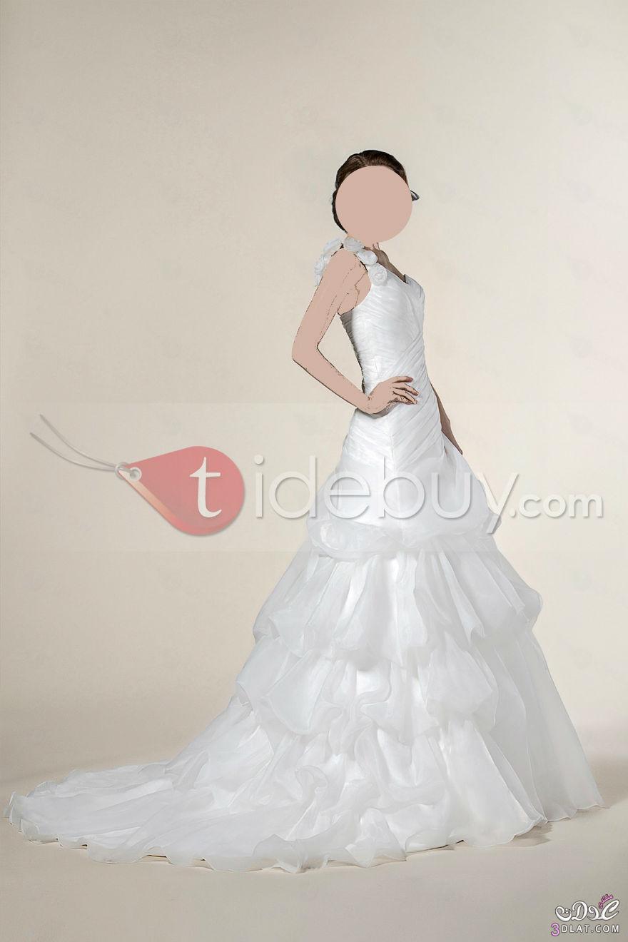 فساتين عرائس بسيطة موضة2019,فساتين أفراح جديدة,فساتين زفاف منفوشة