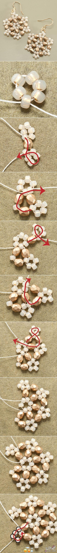 [صور] حلق اكسسوار بالخرز والخيط روعه2014,طريقة عمل اكسسوارات يدوية جميلة وسهلة بالخرز 13873099911.jpg