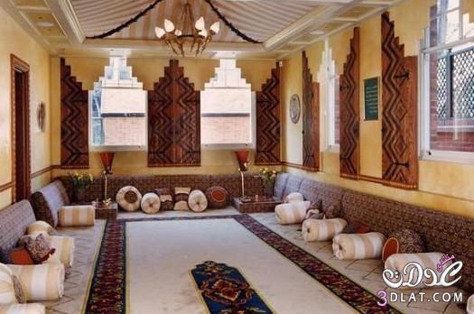 غرف جلوس عربية ارضية 2018 جلسات ارضية جميلة 2018   فلسطين