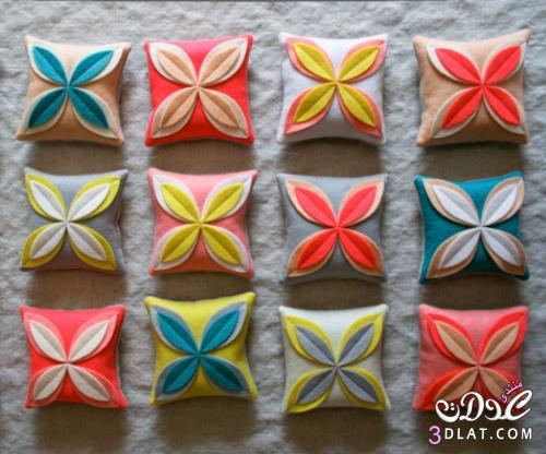 بالصور: اصنعي وسائد ملونة للصالون 138755341810.jpg