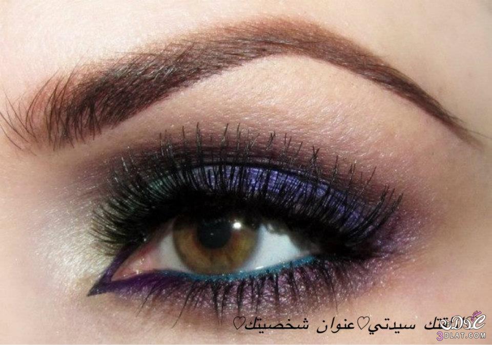 مكياج خفيف للعيون 2013 عيون