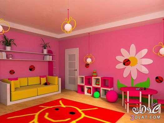 ديكورات غرف العاب للاطفال , ديكورات مودرن لغرف العاب الاطفال