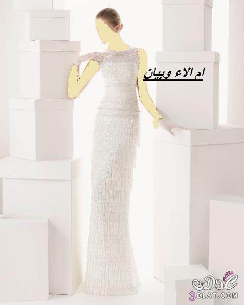 فساتين عروس 2014 تصميم rosa