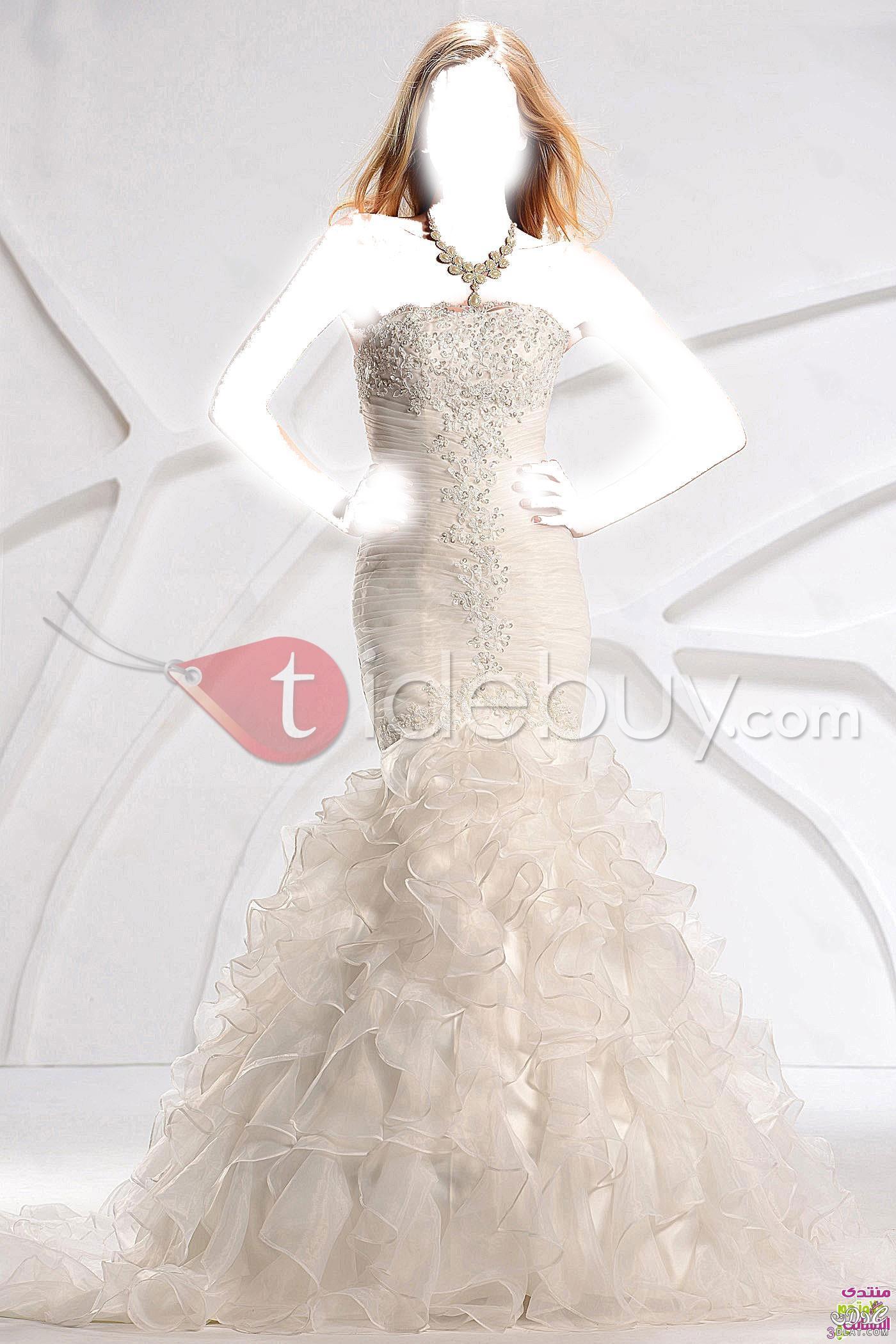 فساتين زفاف 2021 - فساتين زفاف جميلة جدا 2021 - فساتين زفاف للانيقات