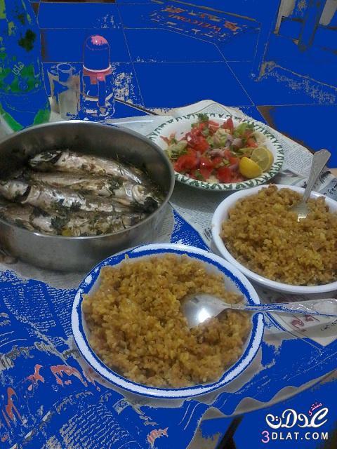 طريقة السمك البورى مطبخى للقمرات