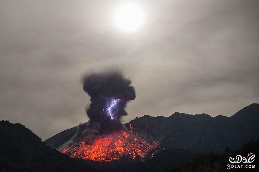 صور مرعبة لبركان نشط  فى جزيرةSakurajima باليابان مناظر مذهلة لبركان Sakurajima 13879868613.jpg