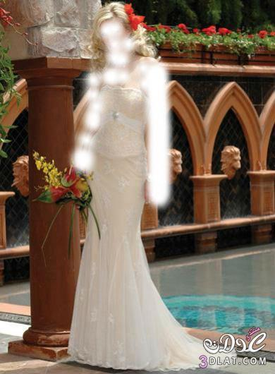 فساتين زفاف جميلة ورقيقة بموديلات حديثة لعروس 2014