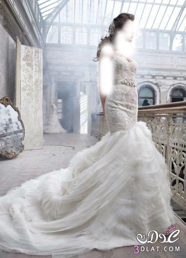 فساتين زفاف جميلة ورقيقة بموديلات حديثة لعروس 2021