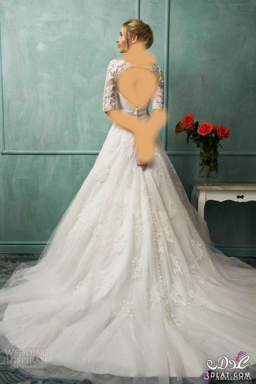 اجمل فساتين زفاف للعروس ,فساتين خطوبة جديدة2019