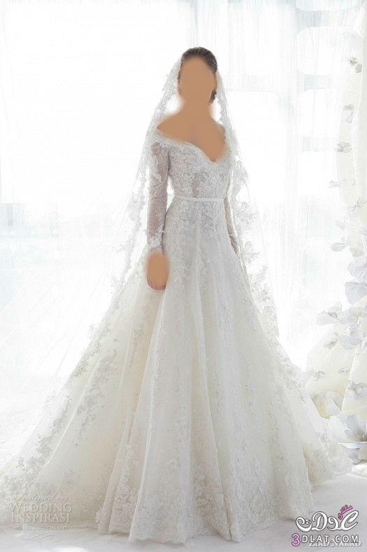 اجمل فساتين زفاف لعروس 2014,فساتين زفاف شتوية 2014