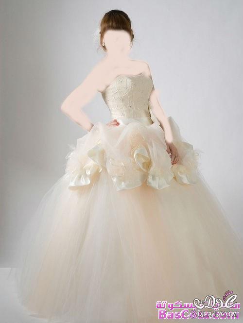 ارق فساتين زفاف 2021 باللون الفضي الرائع