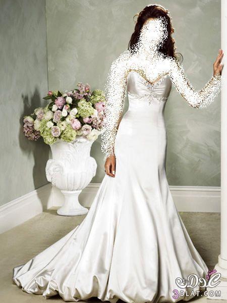 فستانك أنيقة وأنيق ,تألقي بدلالك وأنوثتك يوم زفافك