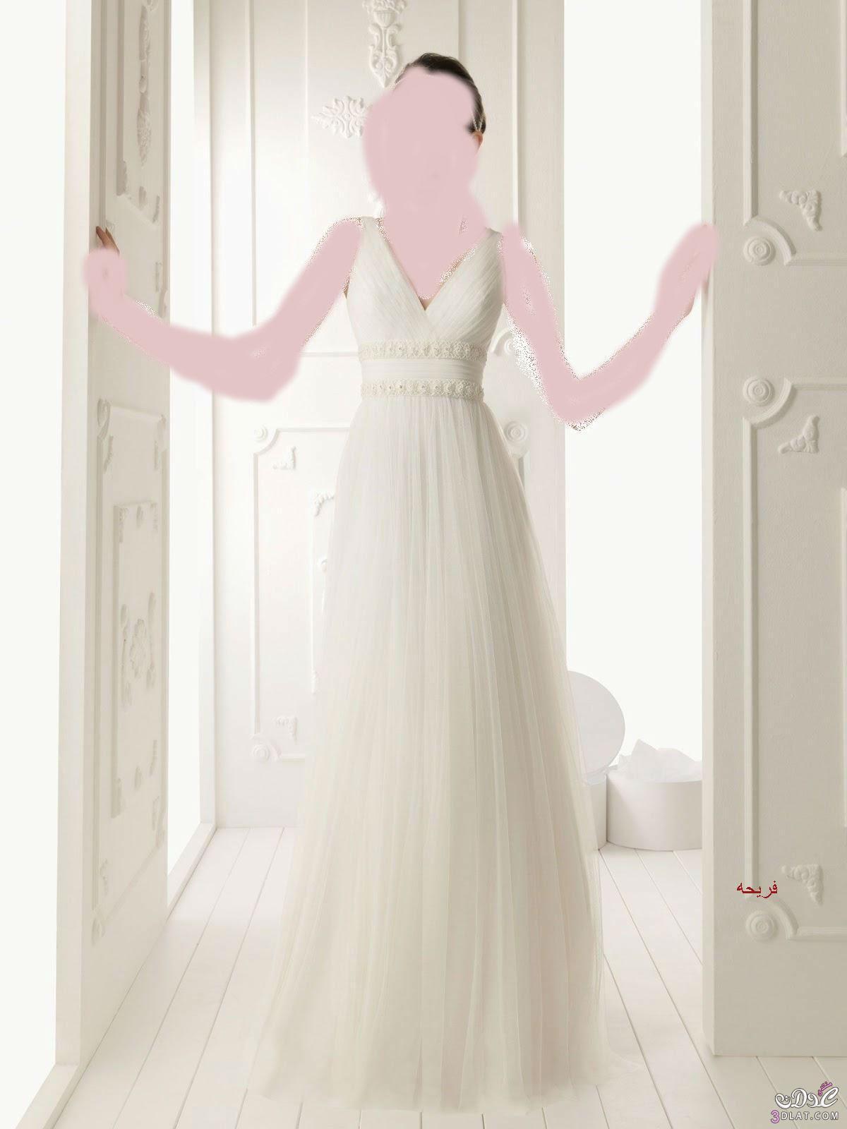فساتين زفاف أنيقة وجميله ,فستان فرح مميز ورائع