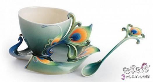 كاسات شاي ملونة كاسات شاي ملونة روعة اجمل اشكال كاسات شاي ملونة 13882386478.jpg
