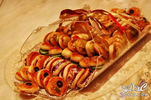 صواني تقديم حلويات مجموعة صواني