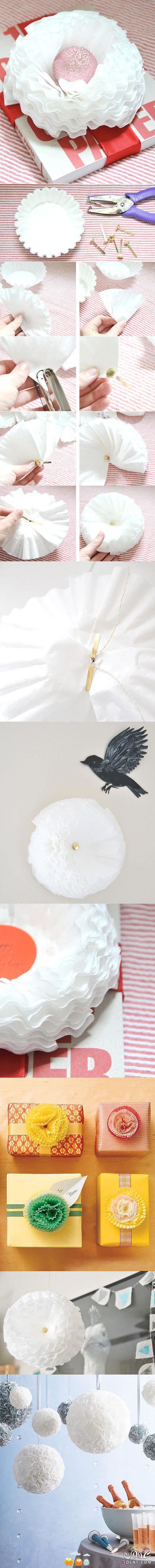 [صور] طريقة جديدة لعمل وردة من الورق2014,من قوالب الكب كيك اعملي احلى وردة للهدايا 13882707853.jpg
