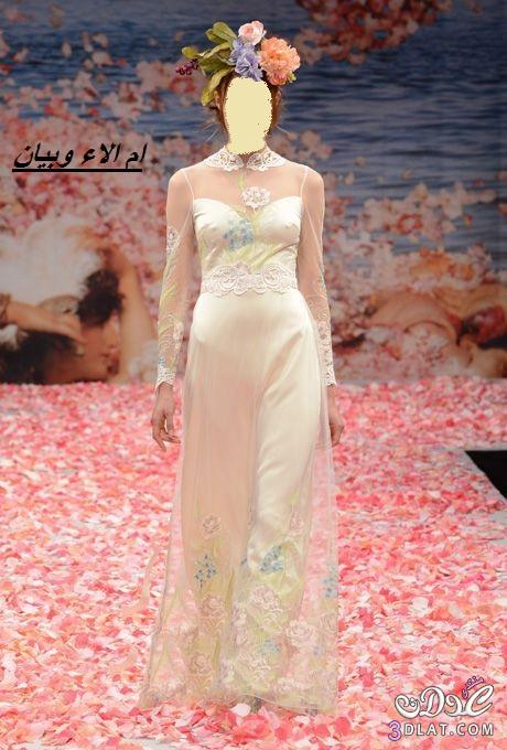 فساتين زفاف بالاكمام ل2019,فساتين عروس 2021 مناسبة للعروس المحجبة ج1