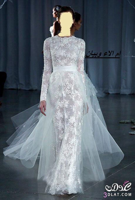 فساتين زفاف بالاكمام ل2019,فساتين عروس 2021 مناسبة للعروس المحجبة ج2