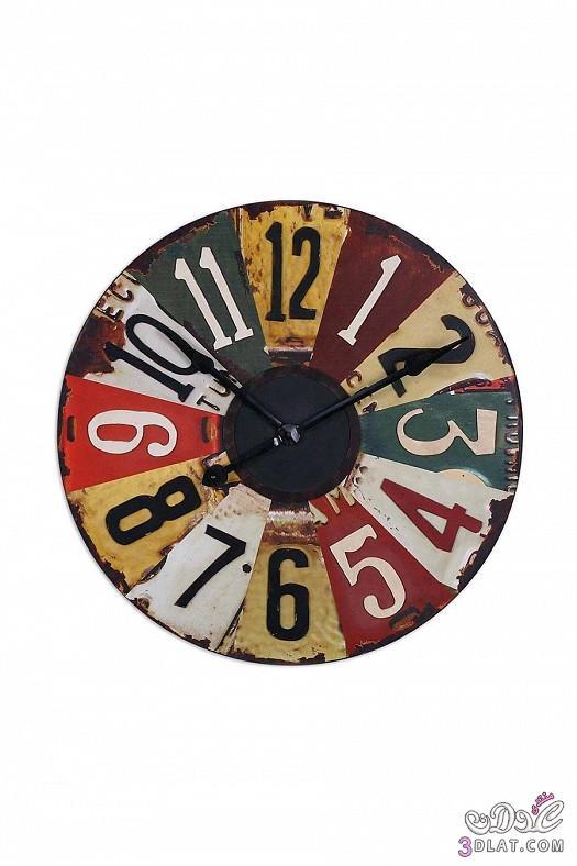 ساعات حائط  ساعات حائط ابطابع كلاسيكي هادئ 13883884381.jpg