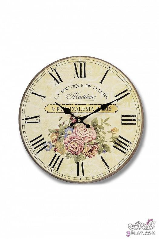 ساعات حائط  ساعات حائط ابطابع كلاسيكي هادئ 13883884382.jpg