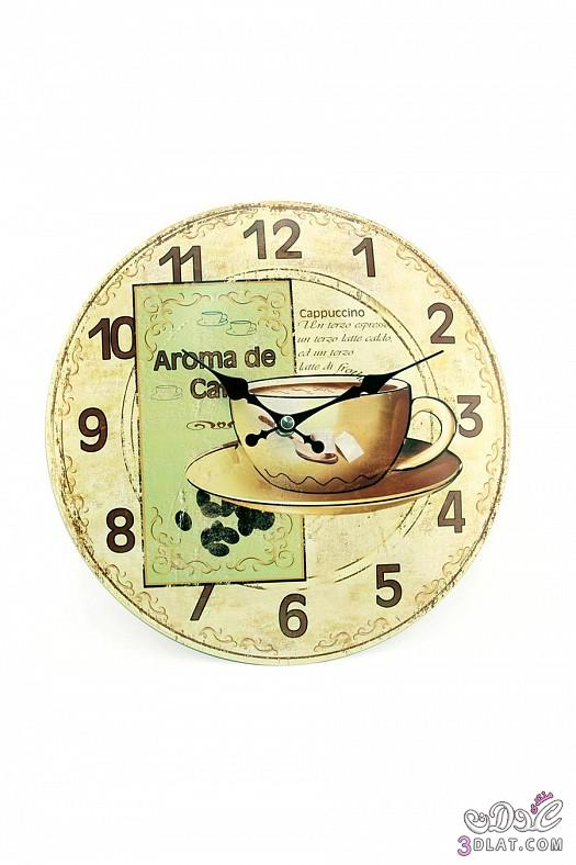 ساعات حائط  ساعات حائط ابطابع كلاسيكي هادئ 13883884384.jpg