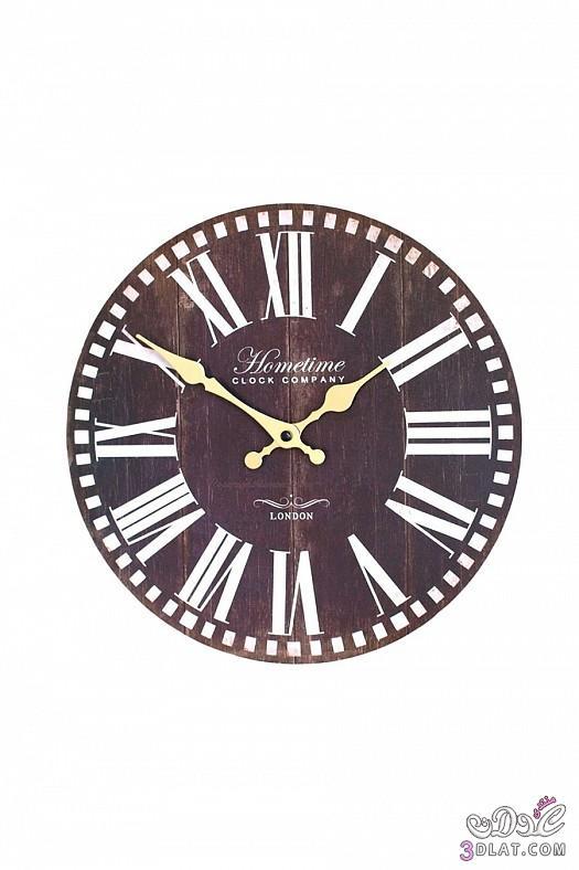 ساعات حائط  ساعات حائط ابطابع كلاسيكي هادئ 13883884388.jpg