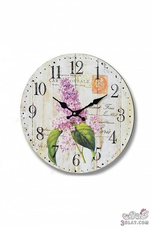 ساعات حائط  ساعات حائط ابطابع كلاسيكي هادئ 13883884389.jpg
