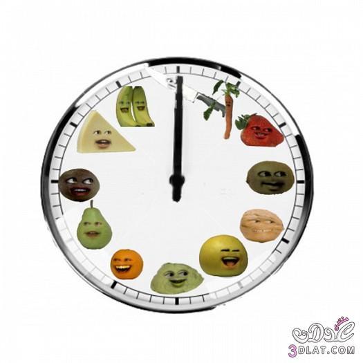 ساعات حائط للمطابخ .ساعات حائط مميزة 2014 138851930312.jpeg