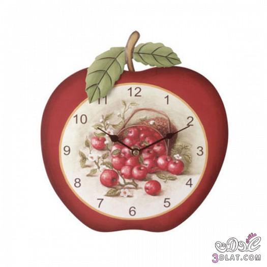 ساعات حائط للمطابخ .ساعات حائط مميزة 2014 13885193038.jpeg