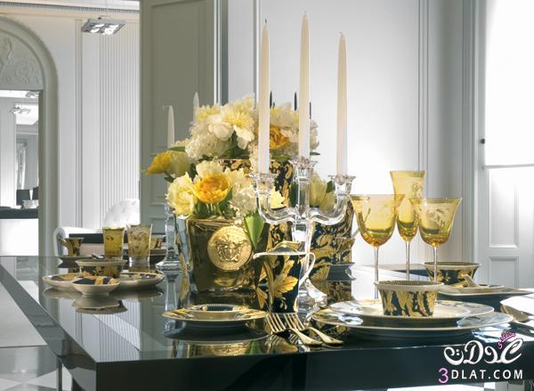 أطقم المائدة واكسسوارات المنزل من فيرساتشي.. الأناقة والذوق الرفيع 13886665571.jpg