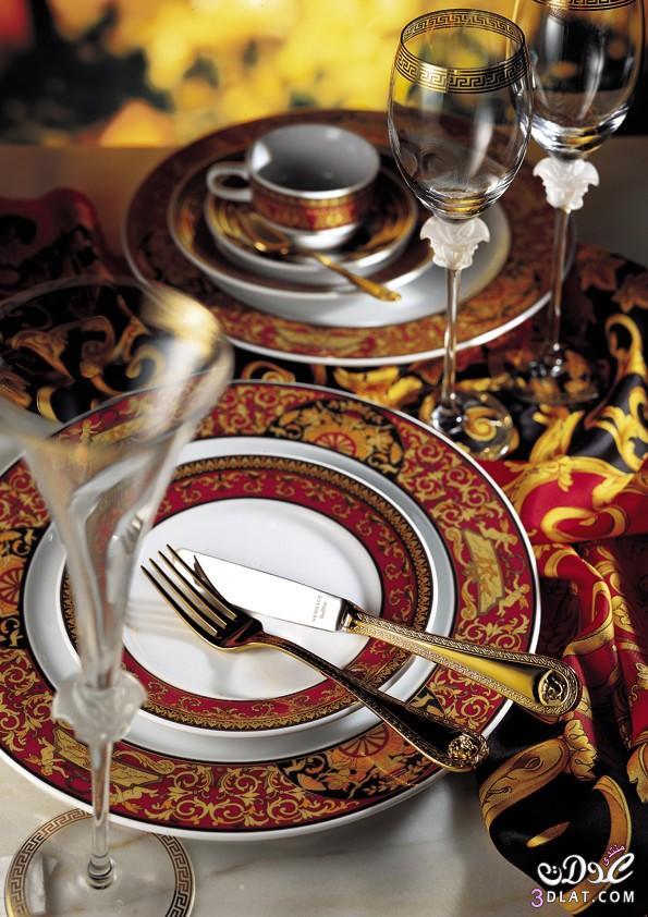 أطقم المائدة واكسسوارات المنزل من فيرساتشي..2014 الأناقة والذوق الرفيع 13886668596.jpg