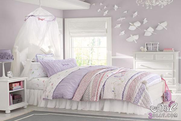 نصائح لجعل غرف نوم البنات مفعمة بالحيوية والمرح!2 138866905412.jpg
