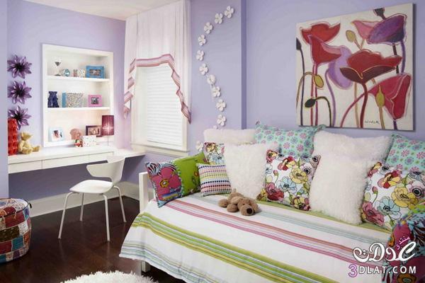 نصائح لجعل غرف نوم البنات مفعمة بالحيوية والمرح!2 138866905414.jpg