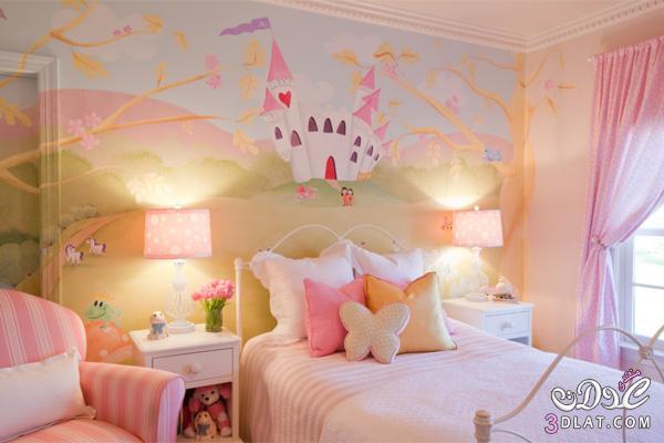 نصائح لجعل غرف نوم البنات مفعمة بالحيوية والمرح!2 13886695152.jpg