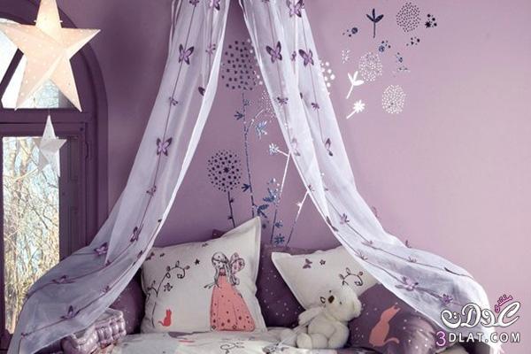 نصائح لجعل غرف نوم البنات مفعمة بالحيوية والمرح!2 13886695153.jpg