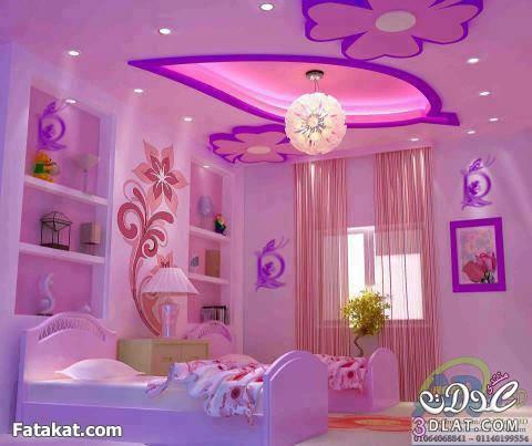 ديكورات غرف اطفال ( جبس ودهان )   مورا موكا الطيبة