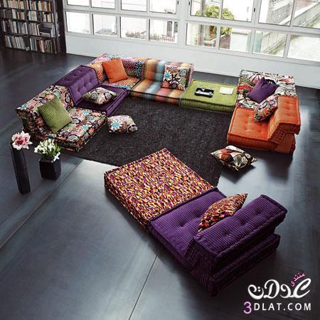 غرف جلوس ارضيه عربية 2020