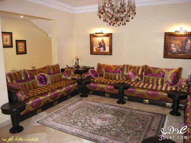 ديكورات لمجلس عربى رائع
