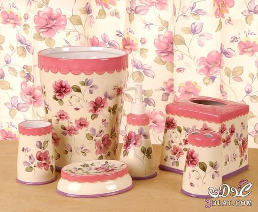 اكسسوارات حمامات 2014 , مزهريات لحمام العروسه 13887980065.jpg