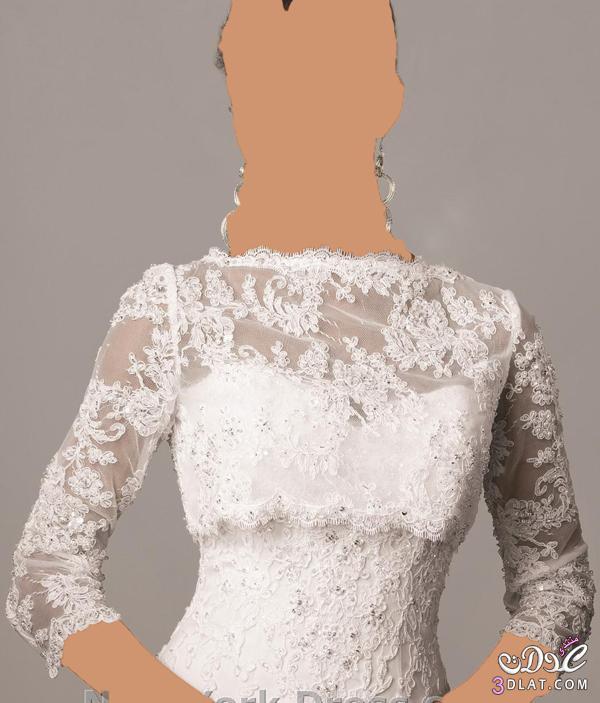 بوليرو و جاكيت روعة لفستان الفرح افكار جديدة لعروس 2021