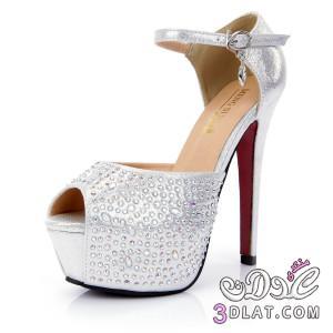 6478db2d6 اجمل احذية الاعراس 2020 احذية بيضاء للعروسة 2020 - ام سلمة