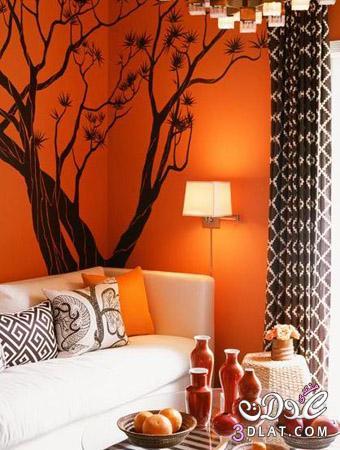 اللون البرتقالي.. سحر الحياة في منزلك 2014 13888557462.jpg